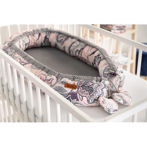 Kūdikio lizdas Sillo Wafel 80x45 Indie grafit