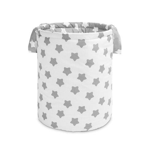 Žaislų krepšys Sillo Žvaigždės Pilka