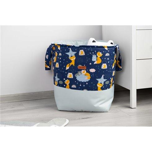 Žaislų krepšys Sillo Medium Mėlynas Lapės