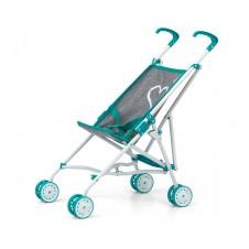 Vaikiškas lėlių vežimėlis M&M Julia Prestige Mint
