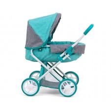 Vaikiškas lėlių vežimėlis M&M Alice Prestige Mint