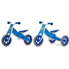Balansinis dviratukas M&M 2in1 Look Blue Army