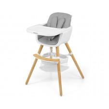 Maitinimo kėdutė M&M 2in1 Espoo Pilka