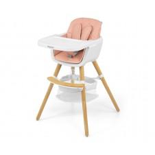 Maitinimo kėdutė M&M 2in1 Espoo Rožinė