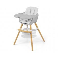 Maitinimo kėdutė M&M 2in1 Espoo Balta
