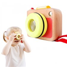 Medinis vaikiškas fotoaparatas Classic World