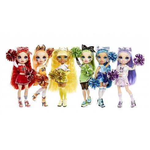 Lėlė Rainbow High Cheer Doll Violet Willow