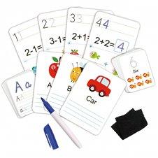 TOOKY TOY Karty Edukacyjne Fiszki do nauki pisania