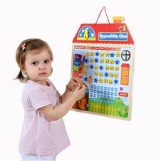 Medinis vaikų atsakomybės už elgesį kalendorius TOOKY TOY