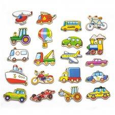 Mediniai magnetai Transporto priemonės VIGA