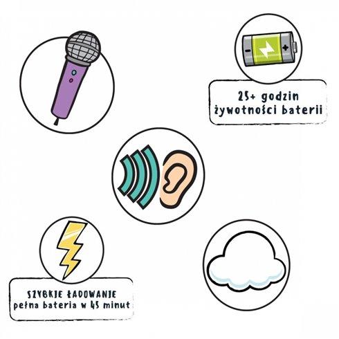 Belaidės ausinės L.O.L. Surprise Wireless Earbuds