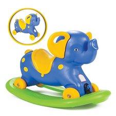 Supamas ir važiuojantis mėlynas drambliukas WOOPIE