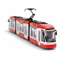 Raudonas tramvajus DICKIE City Liner 46 cm