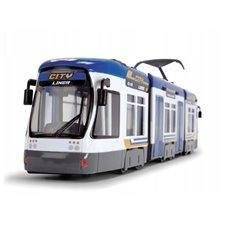 Mėlynas tramvajus DICKIE City Liner 46 cm