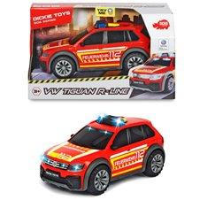Ugniagesių automobilis su šviesos ir garso efektais Dickie VW Tiguan R-Line
