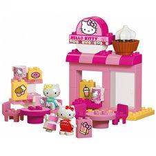 Konstruktorius Big Bloxx Hello Kitty Kavinė su 2 figūrėlėmis