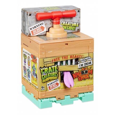 Crate Creatures Suprise KaBOOM Stworek Croak