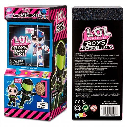 Lėlė su siurprizais L.O.L Surprise Boys Arcade Heroes Gear Guy