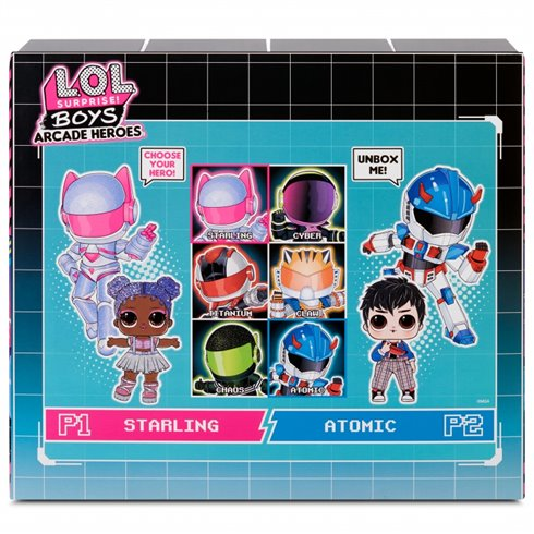 Lėlė su siurprizais L.O.L Surprise Boys Arcade Heroes Fun Boy