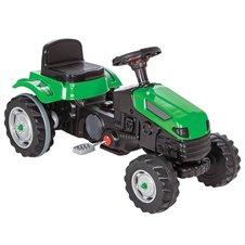 Minamas žalias traktorius WOOPIE