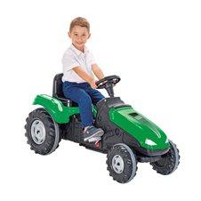 Minamas traktorius WOOPIE MEGA Žalias