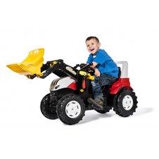 Minamas traktorius Rolly Toys rolly Farmtrac Steyr 6300 Terrus CVT su kaušu