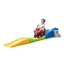 Vaikiška važiavimo trasa STEP2 su raudonu automobiliu