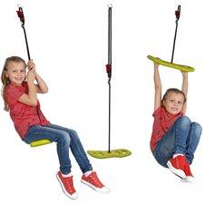 Vaikiškos sūpynės BIG Activity Swing 2in1