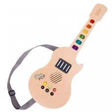 Vaikiška medinė elektrinė gitara CLASSIC WORLD