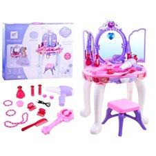 JK Pasakiškas mažosios princesės tualetinis staliukas PTP03707