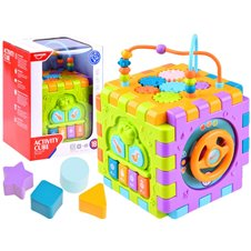 Interaktyvus mokomasis žaislas kubas JK PTP03413