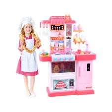 Vaikiška virtuvė JK PTP03348 rožinė