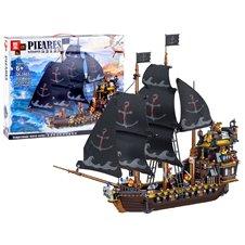 JK Klocki Czarny Statek Piracki 1334 ele. PTP03328
