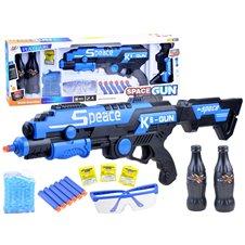 JK Karabin na kulki żelowe i naboje piankowe PTP03282 Blue