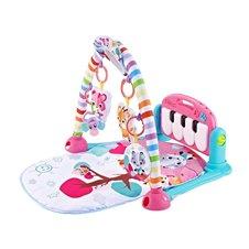 Kūdikių kilimėlis pianinas JK PTP03225 rožinis