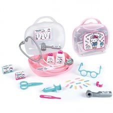 Vaikiškas gydytojo lagaminas su priedais SMOBY Hello Kitty