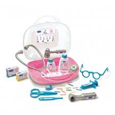 Vaikiškas gydytojo lagaminas su priedais SMOBY Peppa Pig