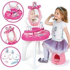 Kosmetinis staliukas su kėdutė Smoby Hello Kitty