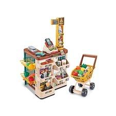 Prekybos centras su pirkinių vežimėliu WOOPIE