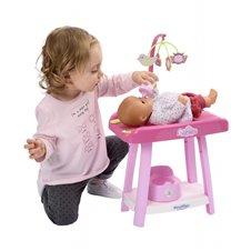 Lėlių vystymo stalas Ecoiffier Babysitter