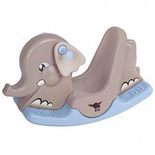 Sūpynės dramblys su judančiomis ausimis BIG