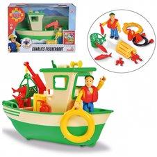 Žvejybos laivas su priedais Simba Fireman Sam