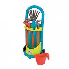 Sodininko vežimėlis su priedais Ecoiffier