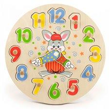 Edukacinis  Viga Toys laikrodis