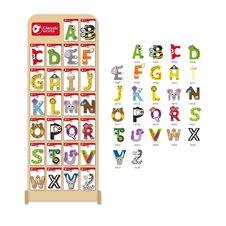 Medinių raidžių rinkinys