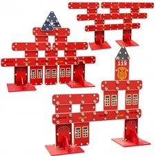 Medinių konstrukcijų blokų priešgaisrinis rinkinys CLASSIC WORLD