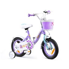 "RoyalBaby dziewczęcy Rower 12"" Chipmunk MM CM12-2 Violet"