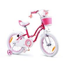 RoyalBaby Rower dziewczęcy STAR GIRL 16cal RB16G-1 Pink