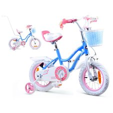 RoyalBaby Rower dziewczęcy STAR GIRL 12cal RB12G-1 Blue