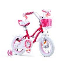 RoyalBaby Rower dziewczęcy STAR GIRL 12cal RB12G-1 Pink